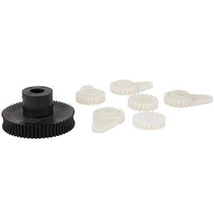 Precise plastic gears