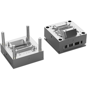 IML injection mold