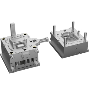 Metal-inserted injection molds